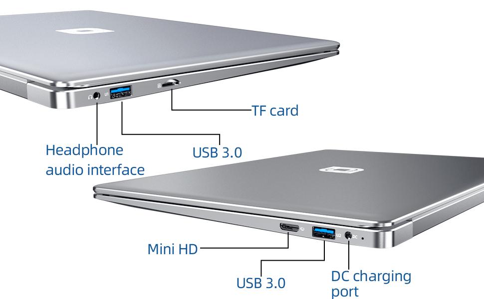 Rich port laptop