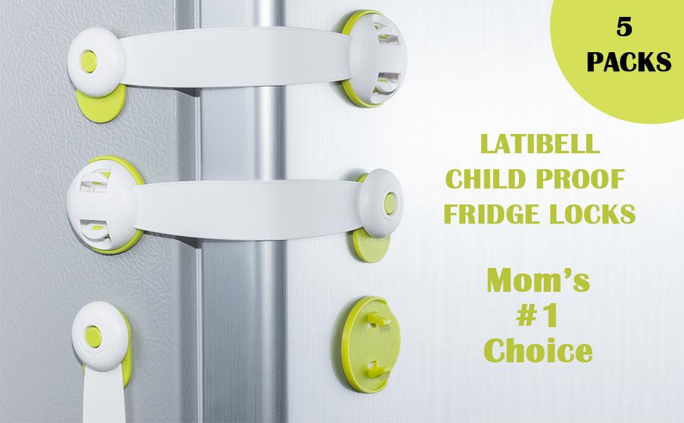 fridge locks for kids