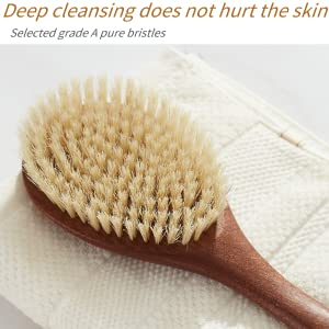 Deep cleansing does not hurt the skin