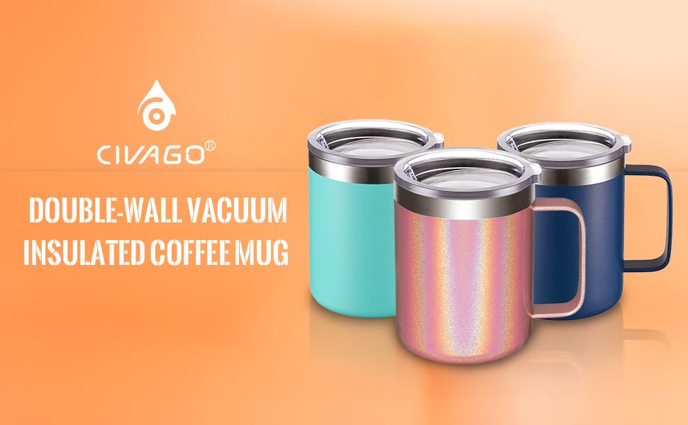 stainles steel coffee mug