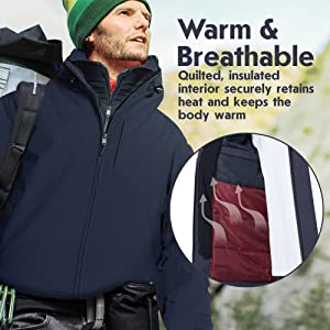 Warm amp; Breathable