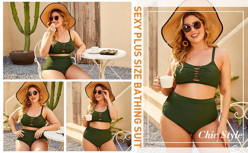 sexy plus size bathing suit sexy bikini chic