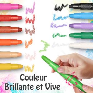 Crayons Peinture pour Visage et Corps