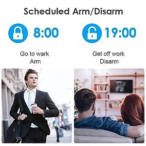 security system alarm gsm 4g wireless