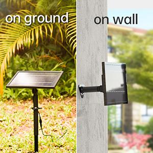 solar fountain pump with led lights and battery