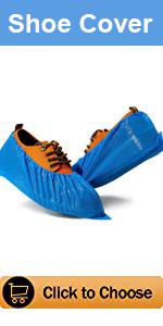 Oceantree Disposable Shoes Covers CPE Plastic Waterproof Lightweight indoor Outdoor100PCS