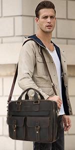 17.3 inch laptop briefcase