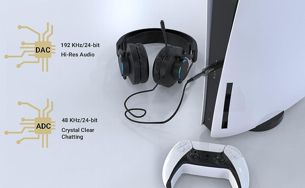 Built-in Hi-Res DAC