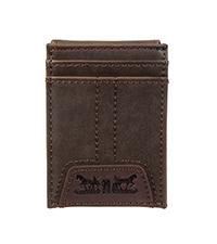 levis slim front pocket wallet