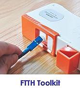 FTTH Tool Kit Fiber Cleaning Kit