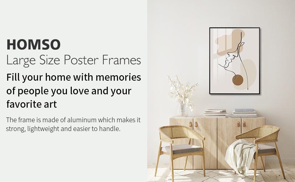 large size poster frame