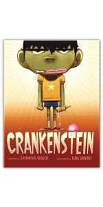 Crankenstein by Samantha Berger, illustrated by Dan Santat
