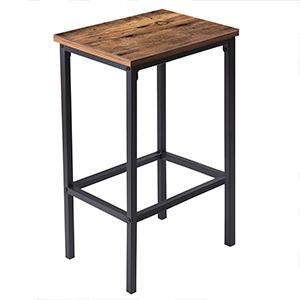 With Elegant Bar Height Chair