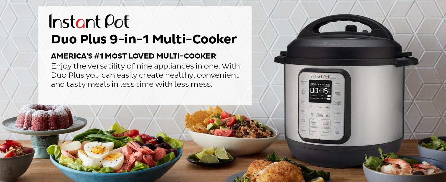 Instant Pot Duo Plus Multi Cooker