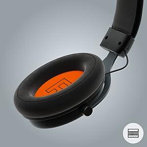 breathable comfortable velour earpads no anti sweat cool summer heat soft ergonomic memory foam
