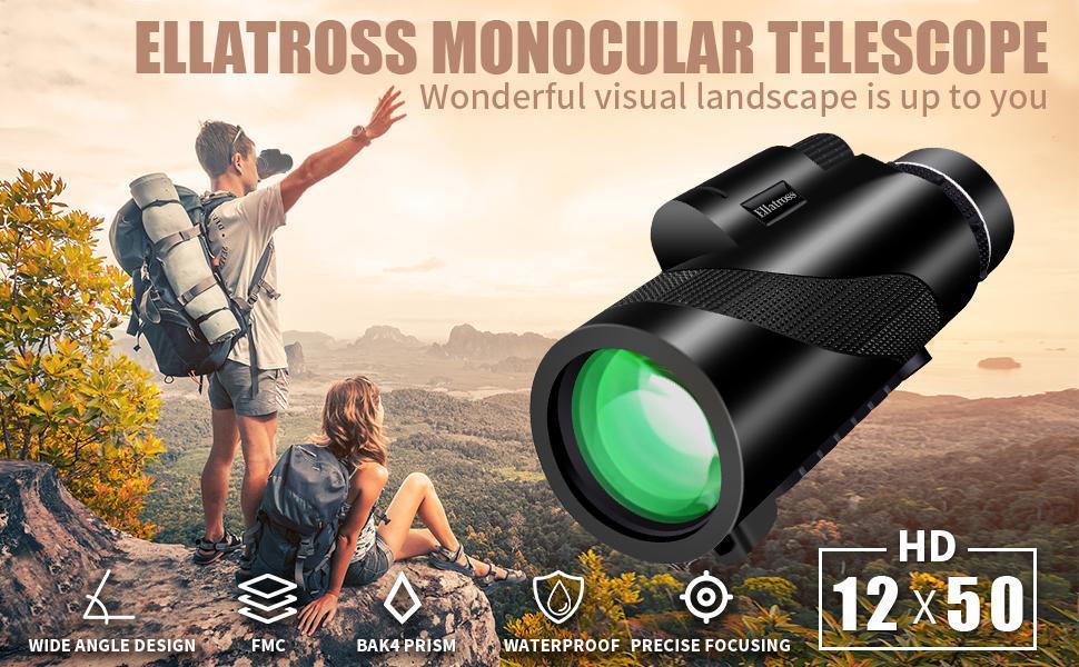 Ellatross monocular telescope