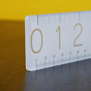 thick ruler