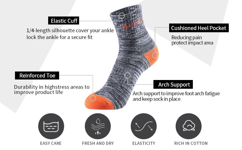 running crew socks