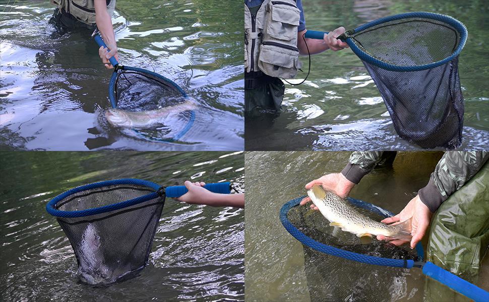 fly fishing net trout net bass net