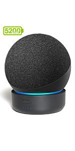 Base de bateria Alexa Echo Dot 4ª geração