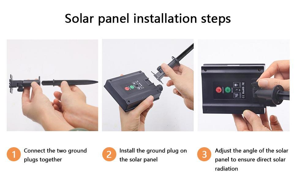 Solar panel installation steps