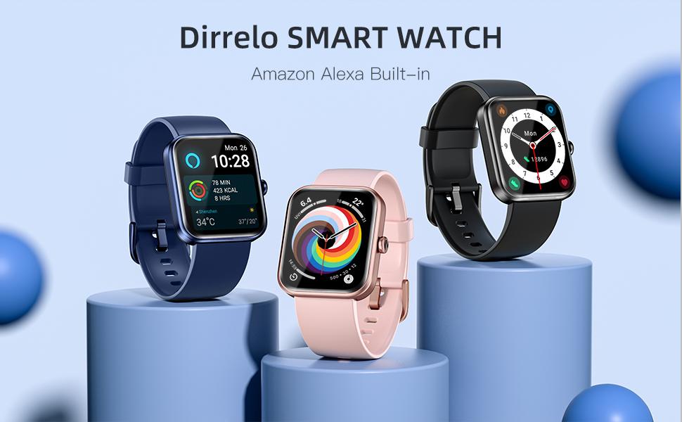 Smart watch with alexa built-in