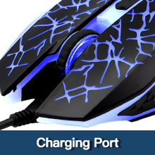 charging port of wireless gaming mouse