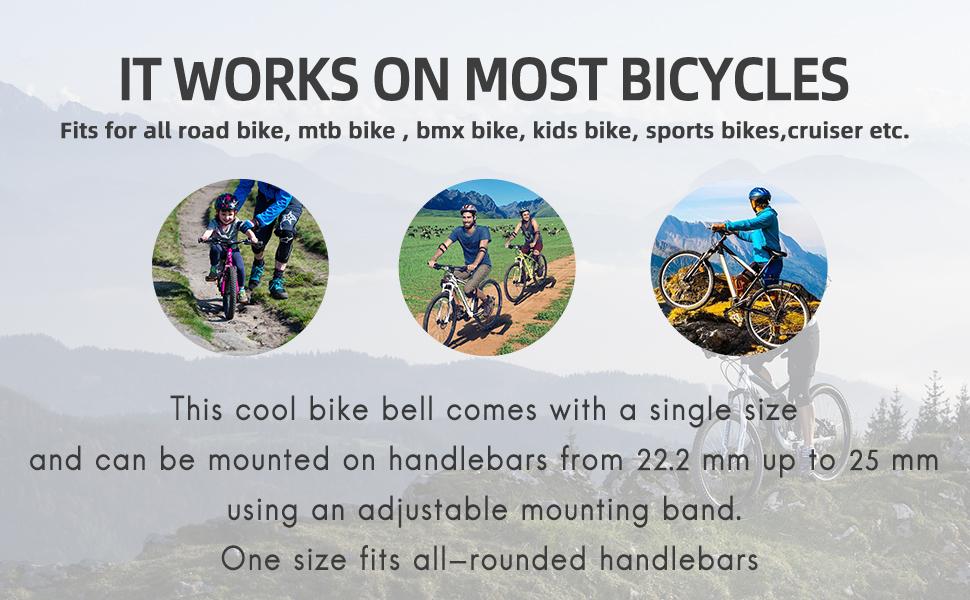 mountain bike bell bike bell