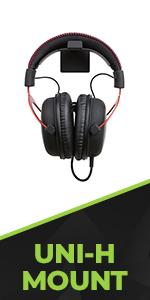 HIDEit Mounts Universal Headset Wall Mount for headphones, bluetooth headsets, PSVR + more!