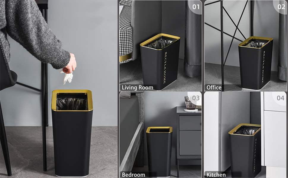 Bathrooms Trash Can