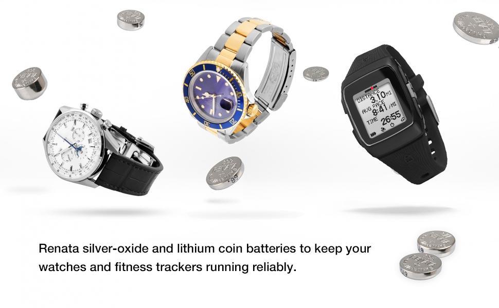 Renata Swiss-engineered watch batteries