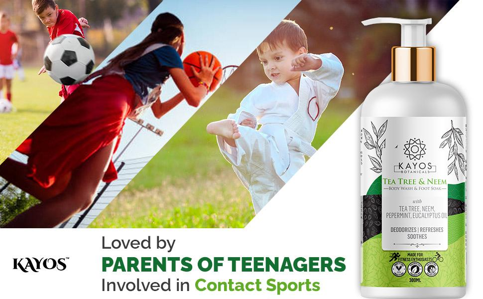 body wash for teenager kids