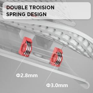 Double Torsion Spring Design