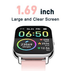 1.69-inch Screen and Custom wallpaper