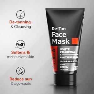 De-tanning & Cleansing, Softens & moisturizes skin, Reduce sun & age-spots