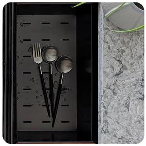 ZEEK 32 Inch Workstation Gunmetal Black