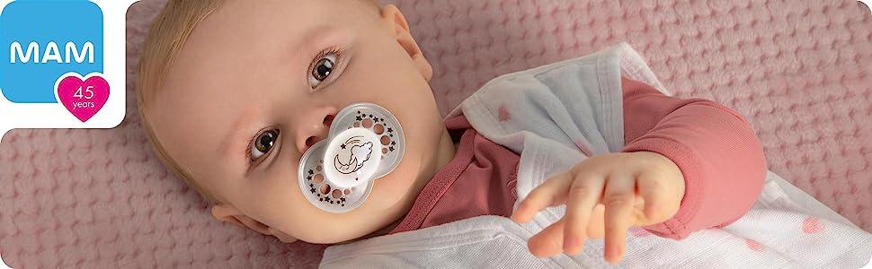 MAM pacifier binkies soother pacifier for baby newborn essentials for newborns