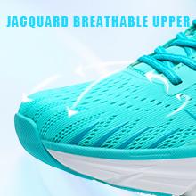 Jacquard Breathable Walking Shoes