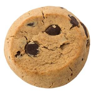 healthy vegan gluten free chocolate chip cookies