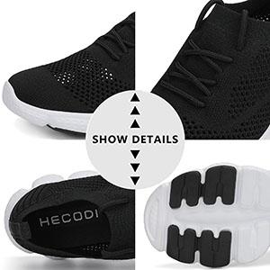 Details of Men walking shoes