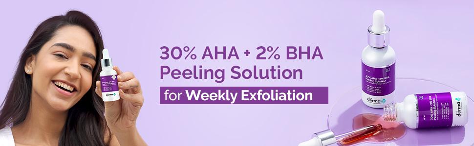 30% AHA + 2% BHA Face Peeling Solution