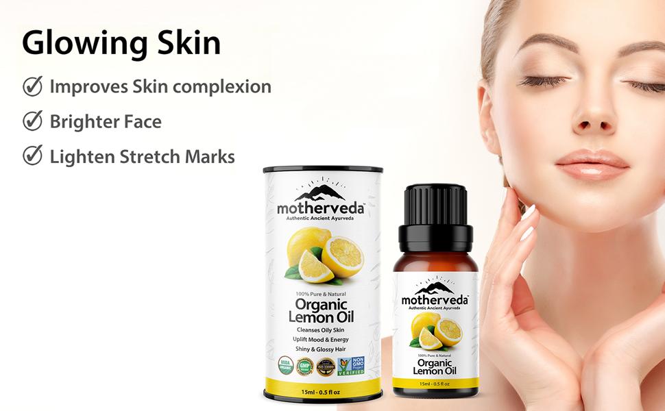 Motherveda Organic Lemon Oil