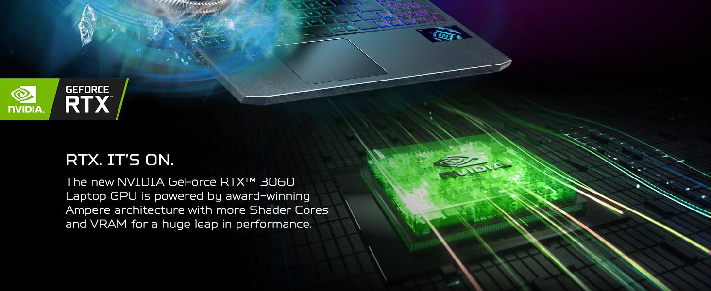 nvidia geforce rtx 3060 30 gpu graphics card ray tracing ai enhanced artificial intelligence tensor