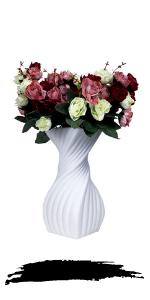modern spiral vase
