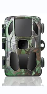 Trail Camera for Hunting Waterproof,  Scouting Camera for Outdoor Wildlife Monitoring