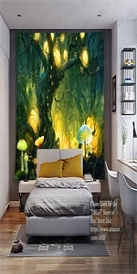 Large Forest Tapestry