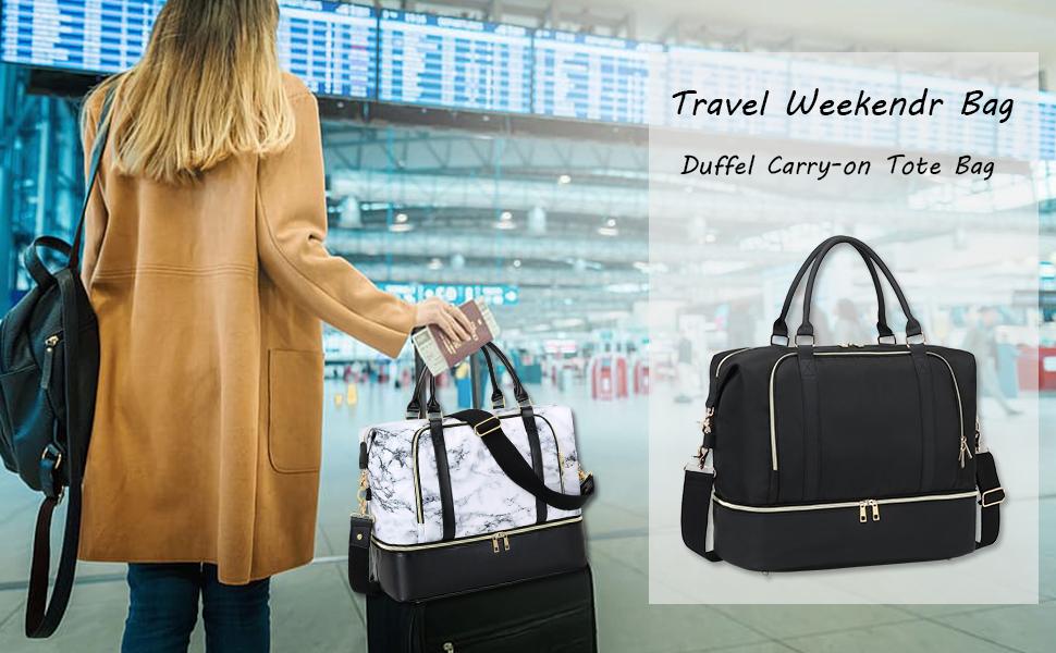 weekender bag for travel