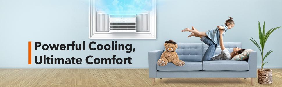 TaoTronics Window Air Conditioner TT-AC003 8000 BTU Extreme Quiet and Comfortable