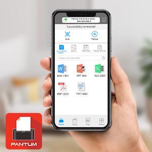 wireless laser printer pantum app