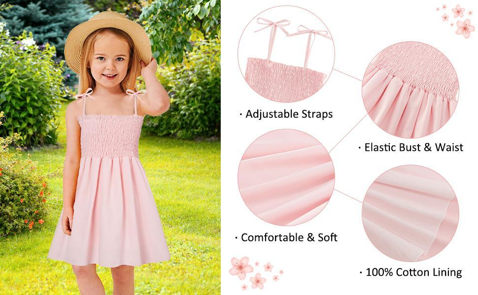 toddler girls playwear dresses summer dresses beach clothes sundress 2t casual beach sun dress